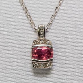 Silver-Ruby